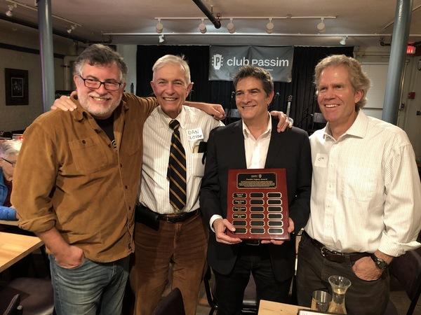 Ralph Jaccodine Receives the Club Passim Legacy Award